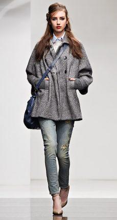 Cappotto panno Twin Set autunno inverno 2015