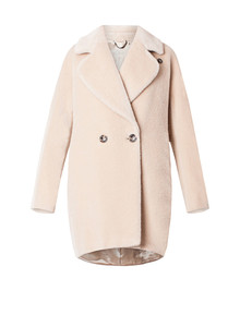 Cappotto pelliccia Marella autunno inverno 2015