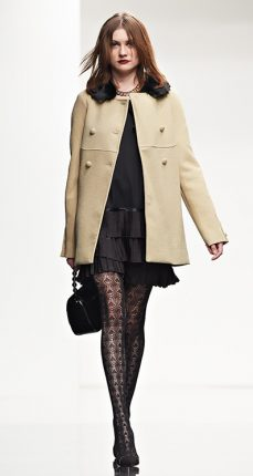 Cappotto pelliccia Twin Set autunno inverno 2015