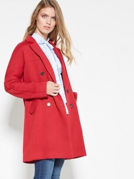 Cappotto rosso Motivi autunno inverno 2017