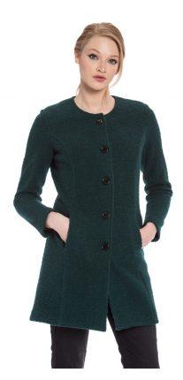 Cappotto verde Camomilla autunno inverno 2017