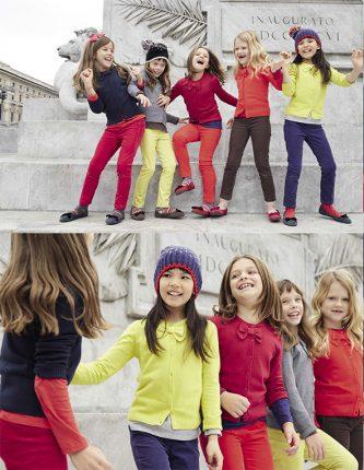 Cardigan bambini Benetton autunno inverno 2013 2014