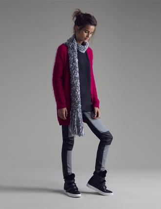 Cardigan magenta Pinko autunno inverno 2015
