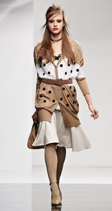 Cardigan pois Twin Set autunno inverno 2015