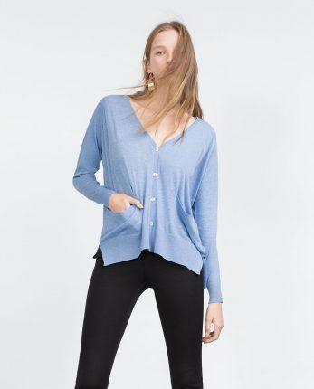 Cardigan Zara primavera estate