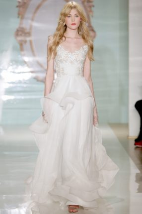 Catalogo abiti sposa Reem Acra 2015