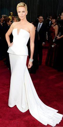 Charlize Theron abito oscar 2013