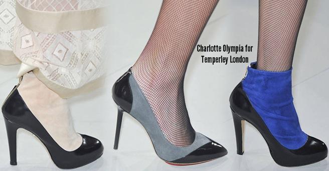 Charlotte Olympia scarpe catalogo autunno inverno 2014 2015