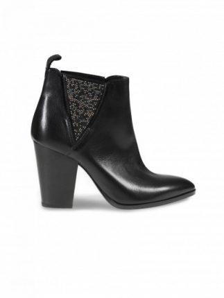 Chelsea boot con tacco neri Janet & Janet scarpe autunno inverno 2015