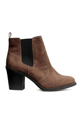 Chelsea boot in suede H&M autunno inverno 2017.