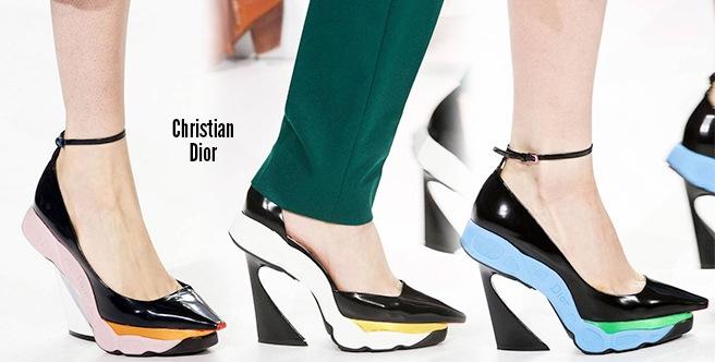 Christian Dior scarpe catalogo autunno inverno 2014 2015