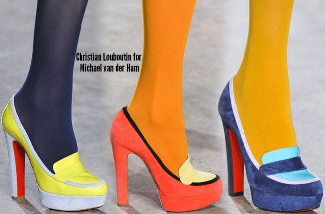 Christian Louboutin scarpe catalogo autunno inverno 2014 2015