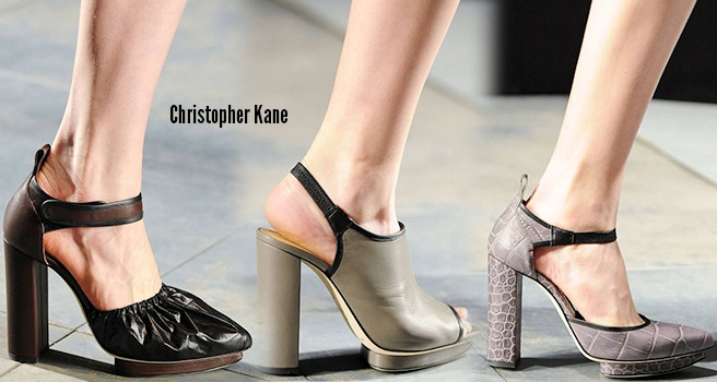 Christopher Kane scarpe catalogo autunno inverno 2014 2015