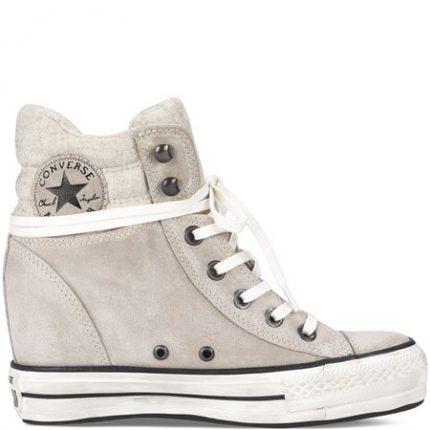 Chuck Taylor Platform Plus collar Converse scarpe autunno inverno 2015