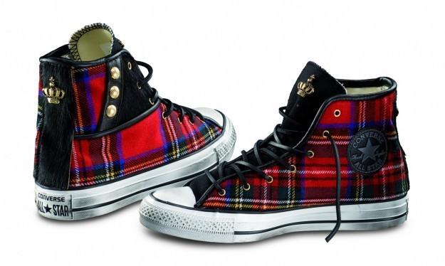Chuck taylor tartan Converse scarpe autunno inverno 2015