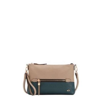 Clutch bicolor Carpisa autunno inverno 2017