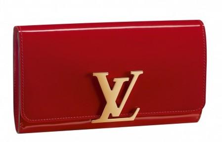 Clutch rossa Louis Vuitton
