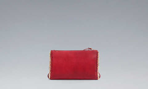 Clutch rossa Zara primavera estate 2013
