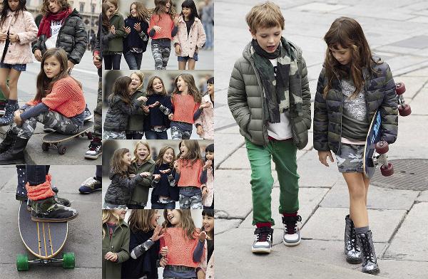 Collezione bambini Benetton autunno inverno 2013 2014