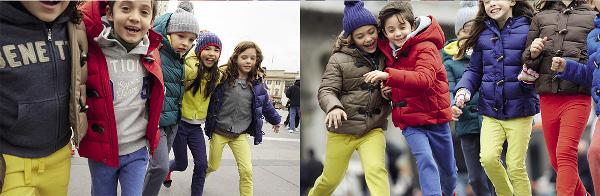 Collezione kids Benetton autunno inverno 2013 2014
