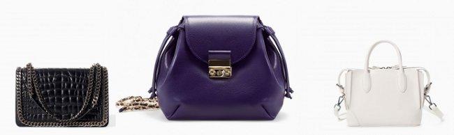 Collezione Zara borse autunno inverno 2015