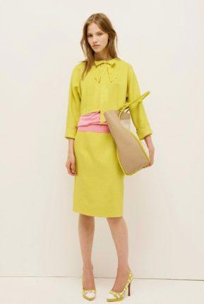 Completo con giacca chanel Nina Ricci primavera estate 2014