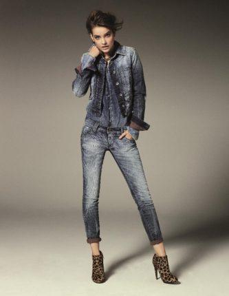 Completo di jeans Gas autunno inverno 2013 2014