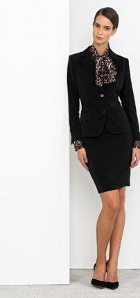 Completo giacca gonna Nenette autunno inverno 2015