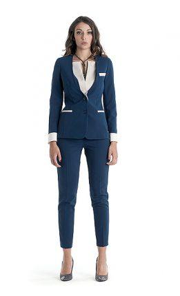 Completo giacca pantaloni Cannella autunno inverno 2014 2015
