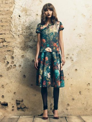 Completo gonna top Fornarina autunno inverno 2015