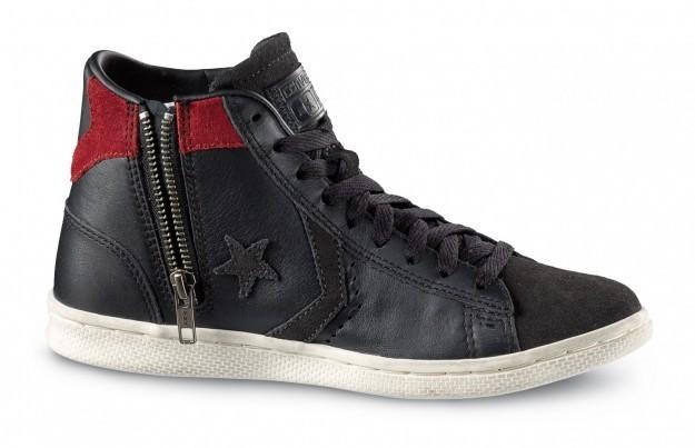 Cons pro leather nere Converse scarpe autunno inverno 2015