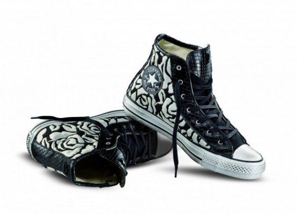 Converse con stampa bicolor Converse scarpe autunno inverno 2015