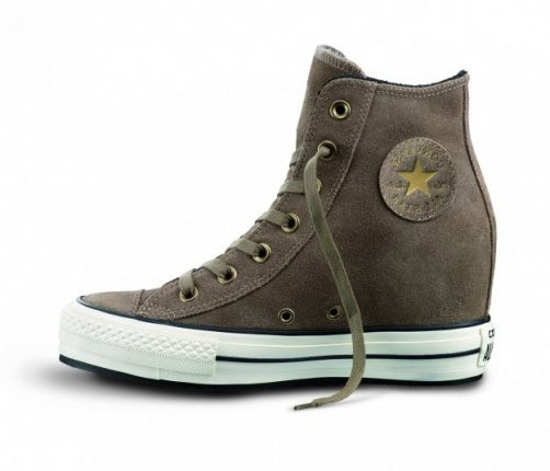 Converse platform plus marroni Converse scarpe autunno inverno 2015