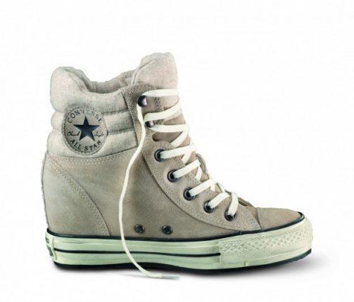 Converse platform plus taupe Converse scarpe autunno inverno 2015