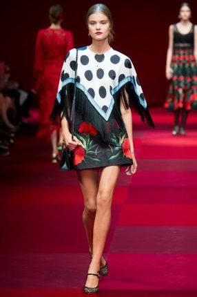 Coprispalle fulard Dolce & Gabbana primavera estate 2015