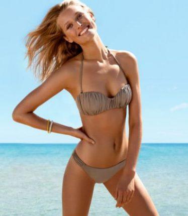 Costume da bagno bikini con reggiseno a fascia HM estate 2013