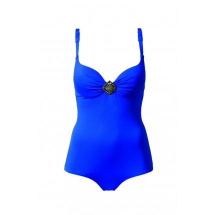 Costume intero blu push up Calzedonia estate 2014