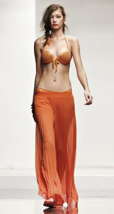 Costume triangolo push-up ricamato Twin Set estate 2013