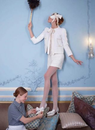 Decolletè con fiocco Louis Vuitton autunno inverno 2013 2014
