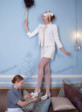 Decolletè con fiocco Louis Vuitton autunno inverno 2013 2014