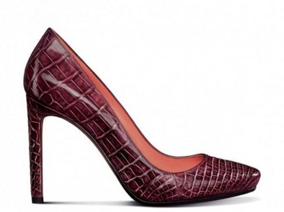 Decolletè di pittone scarpe Santoni autunno inverno 2013 2014