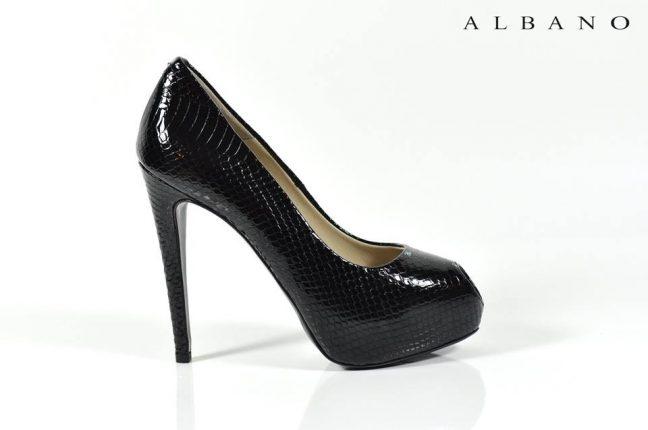 Decollete nere Albano scarpe autunno inverno 2015