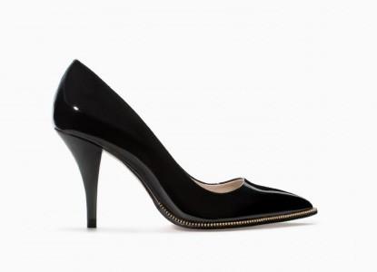 Decolletè nere Zara scarpe autunno inverno 2015