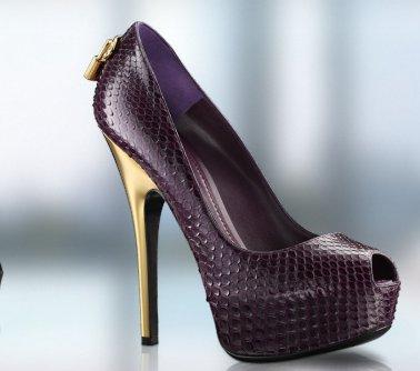 Decolletè open toe Louis Vuitton