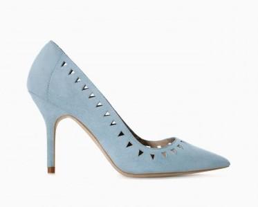 Decolletè turchesi Zara scarpe autunno inverno 2015