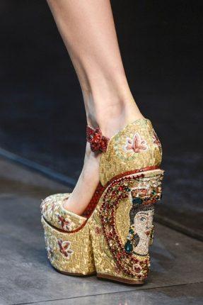 Dolce Gabbana calzature autunno inverno 2013 2014