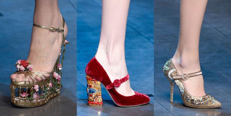 Dolce Gabbana scarpe autunno inverno 2013 2014