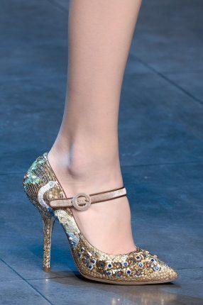 Dolce Gabbana scarpe con cinturino autunno iverno