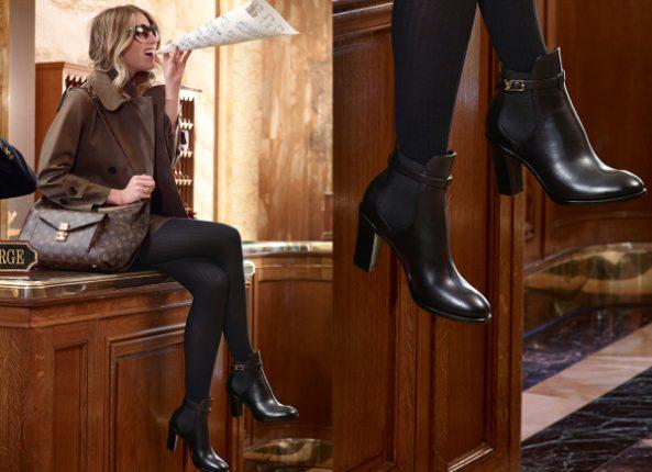 Dtivaletti con tacco Louis Vuitton inverno 2013 2014