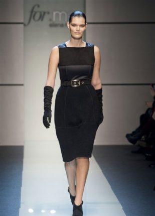 Elena Miro collezione autunno inverno 2013 2014 abito nero